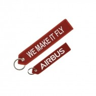 레드 에어버스 we make it fly 키링/Red Airbus we make it fly key ring