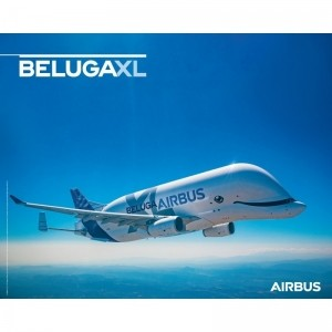 에어버스 BELUGA XL  flight view 포스터/BELUGA XL poster flight view