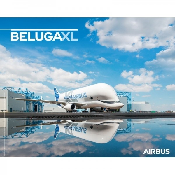 에어버스 BELUGA XL ground view 포스터/BELUGAXL poster ground view